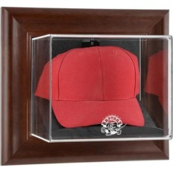 Toronto Raptors Fanatics Authentic Hardwood Classics 1995 - 2015 Logo Brown Framed Wall-Mounted Cap Case found on Bargain Bro Philippines from Fanatics for $64.99