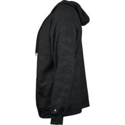 Monocam Embossed Hooded Sweatshirt (L - Black), Men's(fleece) found on Bargain Bro Philippines from Overstock for $60.17