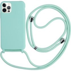 Tech Zebra Cellular Phone Cases Teal - Teal Protective Lanyard Phone Case for iPhone 12 Pro Max found on Bargain Bro India from zulily.com for $12.99