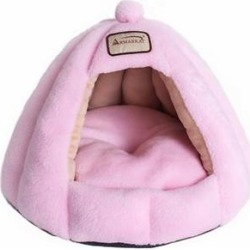 Armarkat Soft Pink Cat Bed found on Bargain Bro from Chewy.com for USD $25.19