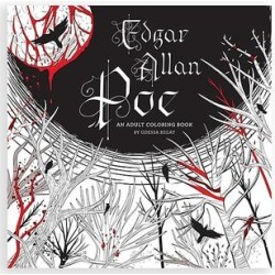 Sterling Art Activity Books - Edgar Allan Poe: An Adult Coloring Book found on Bargain Bro from zulily.com for USD $7.59