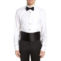 Silk Cummerbund & Pre-tied Bow Tie Set - Black - Nordstrom Ties found on Bargain Bro India from lyst.com for $135.00