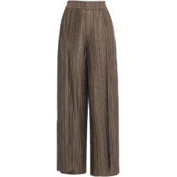 Casual Pants - Brown - Alice + Olivia Pants found on MODAPINS from lyst.com for USD $109.00