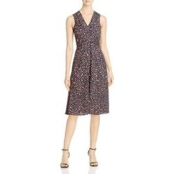 Nic + Zoe Womens Cocktail Dress V Neck Belited - Multi (14), Women's, Multicolor(polyester) found on Bargain Bro from Overstock for USD $50.58
