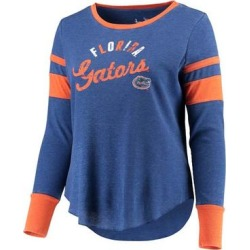 Touch by Alyssa Milano Women's Tee Shirts Royal - Florida Gators Lightweight Thermal Long-Sleeve Tee - Plus found on Bargain Bro India from zulily.com for $38.99