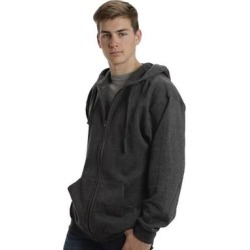Roper Western Jacket Mens Solid Hooded Zip Gray (L), Men's(cotton) found on Bargain Bro Philippines from Overstock for $49.94