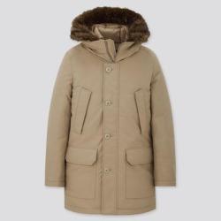 UNIQLO Men's Ultra Warm Down Coat, Beige, XS found on Bargain Bro India from Uniqlo for $99.90