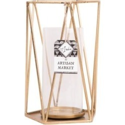 Home Essentials 11 Inch Triangle Candleholder Frame found on Bargain Bro Philippines from belk for $15.20