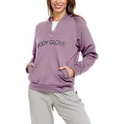 Body Glove Women's Sweatshirts and Hoodies Taupe - Taupe Zip-Front Pocket Hoodie - Women found on MODAPINS from zulily.com for USD $19.99