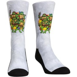 Rock Em Apparel Socks - TMNT Gray Group Tie-Dye Socks - Kids & Adult found on Bargain Bro Philippines from zulily.com for $11.99