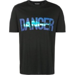Neil Barrett Mens Danger Beach Graphic T-Shirt Small Black found on MODAPINS from Overstock for USD $139.52