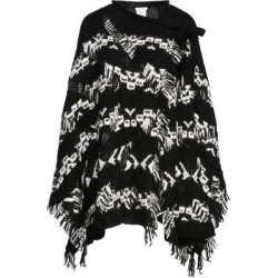 Capes & Ponchos - Black - P.A.R.O.S.H. Knitwear found on Bargain Bro from lyst.com for USD $246.24