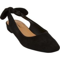 Women's The Amie Slingback by Comfortview in Black (Size 7 1/2 M) found on Bargain Bro Philippines from Woman Within for $24.98