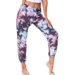 Fleece Tie Dye Joggers - Blue - Onzie Pants found on MODAPINS from lyst.com for USD $69.00