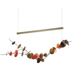 Hubbardton Forge Lily 41 Inch LED Linear Suspension Light - 139812-1073 found on Bargain Bro from Capitol Lighting for USD $2,441.12