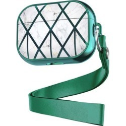 Shou Camera Cases Green - Green & White Geometric Apple Airpods Case found on Bargain Bro Philippines from zulily.com for $12.99