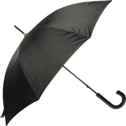 Logo Umbrella Unisex Black - Black - Burberry Umbrellas found on Bargain Bro India from lyst.com for $359.00