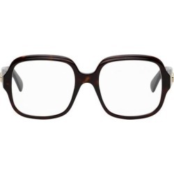 Tortoiseshell Square Glasses - Brown - Gucci Sunglasses found on Bargain Bro India from lyst.com for $370.00