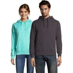 Hanes Men's ComfortWash Garment Dyed Fleece Hoodie Sweatshirt (New Railroad Gray - M) found on Bargain Bro from Overstock for USD $24.93