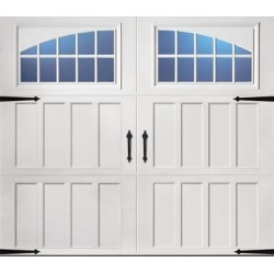 Classica 3000 Northampton Garage Door - White 9 x 8 Seine Window found on Bargain Bro from samsclub.com for USD $1,519.24