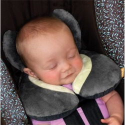Brica Car Seat Head and Body Supports - Gray & Green Koosh'nTM Infant Neck/Head Support found on Bargain Bro Philippines from zulily.com for $9.99