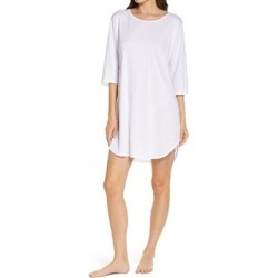 Bliss Cotton & Modal Sleep Shirt - White - Natori Nightwear found on Bargain Bro Philippines from lyst.com for $110.00