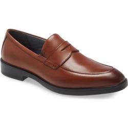 Xc4 Maddox Waterproof Penny Loafer - Brown - Johnston & Murphy Slip-Ons found on Bargain Bro from lyst.com for USD $136.04