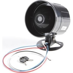 Code Alarm MBS Compact Multi-Tone Siren w/ Backup Batt. found on Bargain Bro from Crutchfield for USD $22.79
