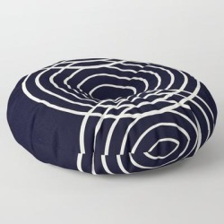 Floor Pillow   Life Balance Black by Grace - ROUND - 30