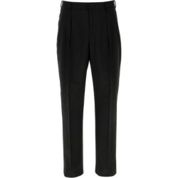 Straight Leg Trousers - Black - Valentino Pants found on Bargain Bro India from lyst.com for $474.00