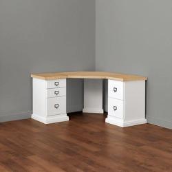 Zinc Top - Corner Desk Group Small - Ballard Designs found on Bargain Bro Philippines from Ballard Designs for $1039.20