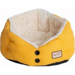 Armarkat Gold Waffle Cat Bed found on Bargain Bro from Chewy.com for USD $29.37