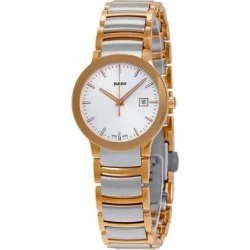 Centrix Silver Dial Ladies Watch - Metallic - Rado Watches found on Bargain Bro India from lyst.com for $695.00
