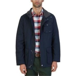 Nautica Mens Multi-Pocket Parka Coat (Blue - X-Large), Men's(polyester, solid) found on MODAPINS from Overstock for USD $103.59