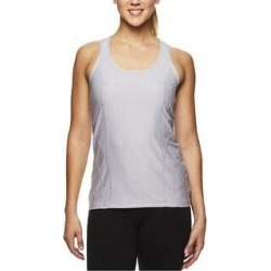 Reebok Womens Space Dye Print Racerback Tank Top (Gray - R845 - Medium), Women's(polyester) found on Bargain Bro India from Overstock for $24.71