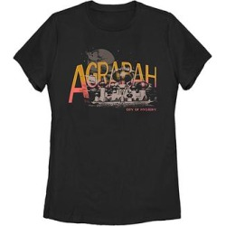 Fifth Sun Women's Tee Shirts BLACK - Aladdin Black 'Agrabah City of Mystery' Crewneck Tee - Women & Plus found on Bargain Bro from zulily.com for USD $15.19