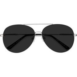 Unisex Aviator Black Silver Metal Prescription sunglasses - EyeBuydirect's Camp found on Bargain Bro Philippines from EyeBuyDirect.com for $39.00