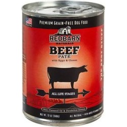 Redbarn Naturals Beef Pate All Stages Grain-Free Canned Dog Food, 13-oz, case of 12 found on Bargain Bro from Chewy.com for USD $20.88