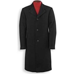 Men's Irvine Park Classic Wool-Blend Topcoat, Black 2XL Regular found on Bargain Bro Philippines from Blair.com for $39.97