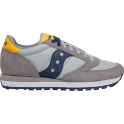 Men's Shoes Leather Trainers Sneakers Jazz - Gray - Saucony Sneakers found on Bargain Bro from lyst.com for USD $64.60