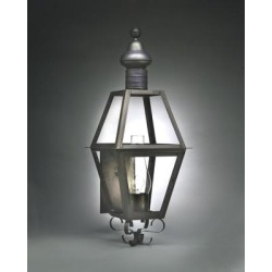 Northeast Lantern Boston 39 Inch Tall 1 Light Outdoor Wall Light - 1041-AC-CIM-SMG found on Bargain Bro from Capitol Lighting for USD $997.86