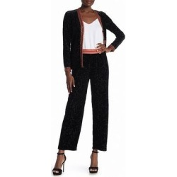 Anna Sui Women's Pants Small Velvet Burnout Pull-On (S), Black found on MODAPINS from Overstock for USD $59.99