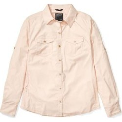 Marmot Women's Apparel & Clothing Annika Long Sleeve Top - Women's Mandarin Mist Large found on MODAPINS from campsaver.com for USD $70.00