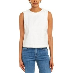 Baldwin Jeans Karina Tank (WHITE WITH BLUE NEP WHNP - XS), Women's, Multicolor(cotton) found on MODAPINS from Overstock for USD $45.53