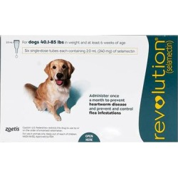 Revolution For Large Dogs 40.1-85lbs (Green) 6 Doses found on Bargain Bro Philippines from Canadapetcare.com for $94.22