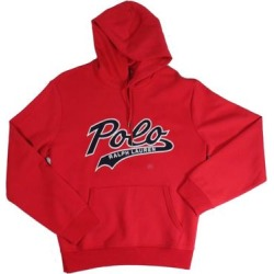 Polo Ralph Lauren Mens Hoodie Red Size 2XL Double-Knit Embroidered Logo (2XL), Men's found on MODAPINS from Overstock for USD $71.98