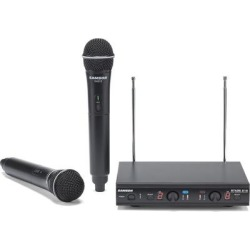 Samson Stage 212 Dual Vocal VHF Wireless system 173-198MHZ