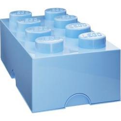 Room Copenhagen 212 - LEGO Light Royal Blue 2x4 Storage Brick