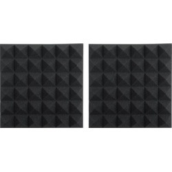 Gator Framework Acoustic Treatment 2 pack Charcoal found on Bargain Bro from Crutchfield for USD $15.19