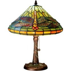 Meyda Lighting Tiffany Dragonfly 16 Inch Accent Lamp - 27158 found on Bargain Bro Philippines from Capitol Lighting for $365.40